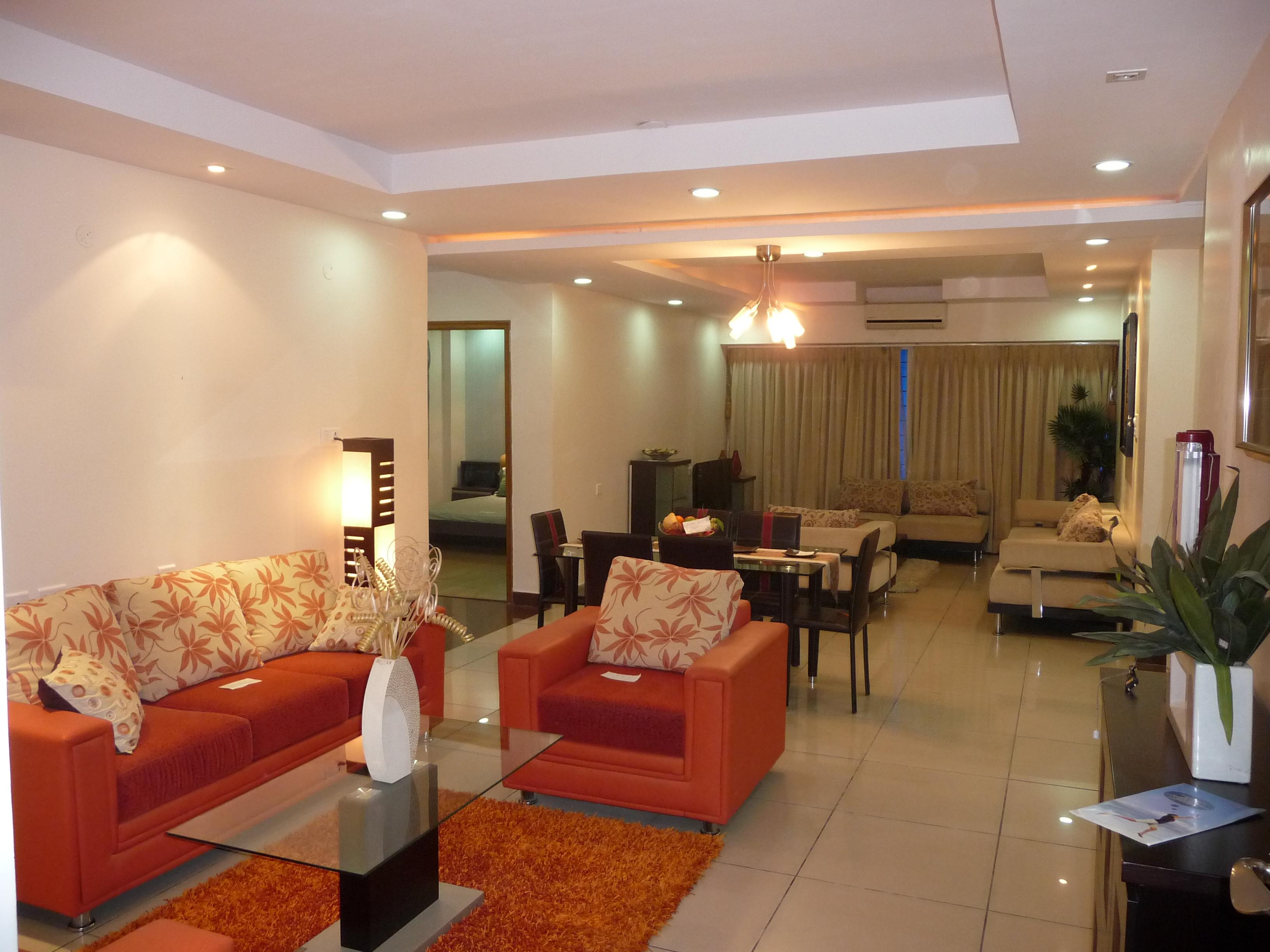 Drawing Room Curtains Flooring Lighting And Furniture GharExpert