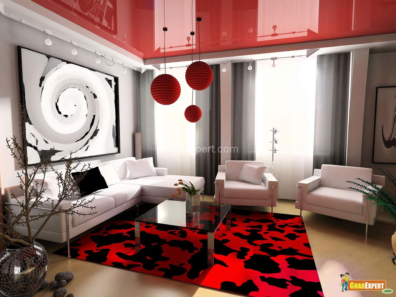 Modern Living Room The Flat Decoration