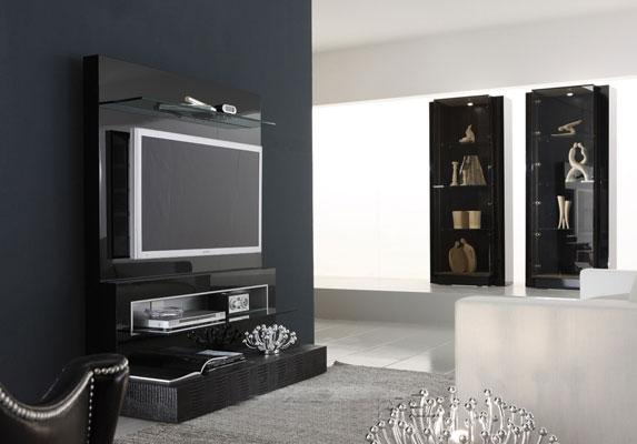 Home Theater Design| Home Theatre TV Cabinets | Wood Cabinets for ...