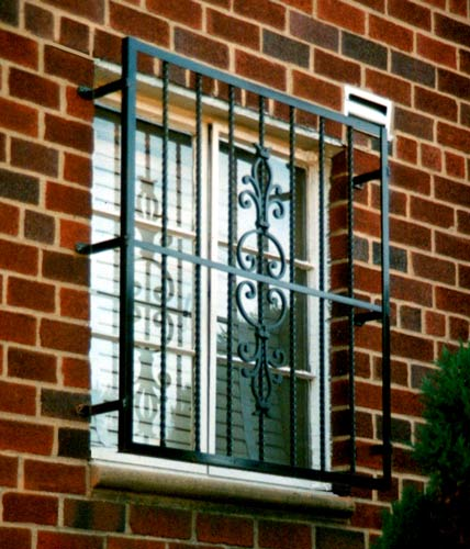 Designs of window grills safety