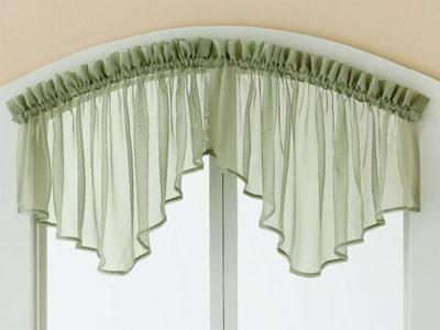Kitchen valance curtain