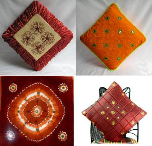 ethnic style cushions