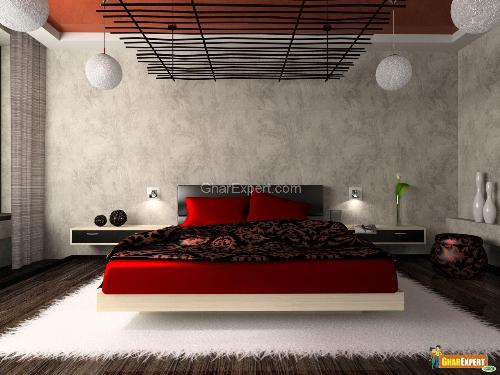 Exotic Bedroom Interior Design Idea