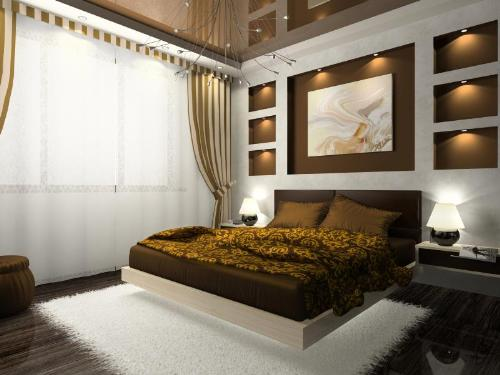 Netural Brown Color for Cozy Bedroom