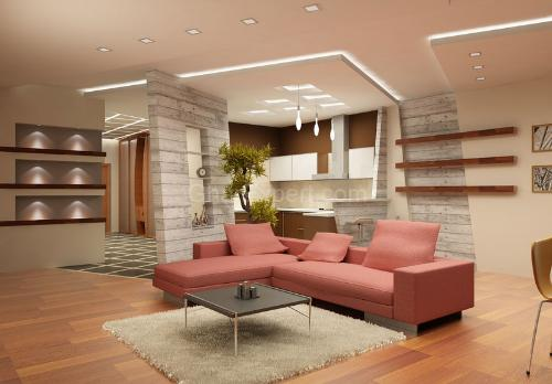 Charming Be Creative In Pop Ceiling Designing; Choose A Design Of Straight Lines In  Small Rooms And Low Ceiling. Coffered Style Ceiling Designs In Tray Ceiling  With ... Part 32