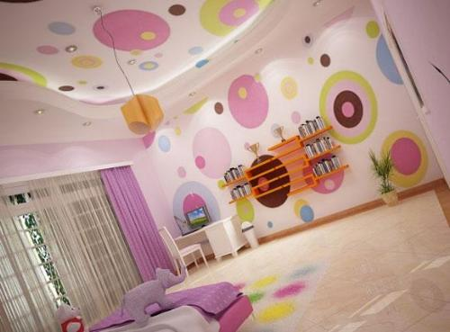 Stunning Wall Painting Ideas for Girls Room 500 x 369 · 27 kB · jpeg