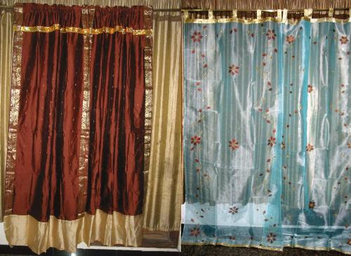ethnic style curtains