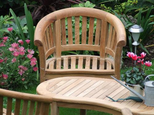 Teak wood garden furniture
