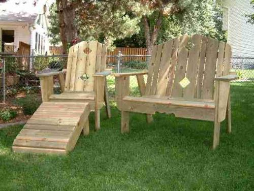 cedar wood garden furniture