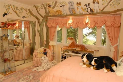 kids room pet theme