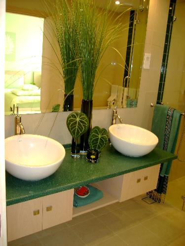 Bathroom Decor With Plants : Bathroom decor decorating ideas