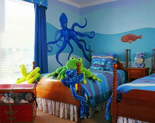 Under water world kids room pa....
