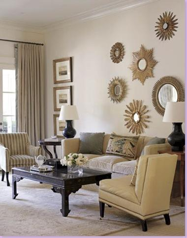 Living room accessories living room furnishings living for Mirrors for living room walls