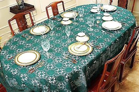 Polyester Dining Table Cloth