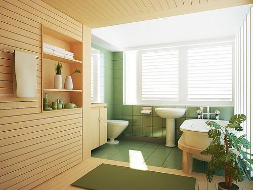 modern style bathroom