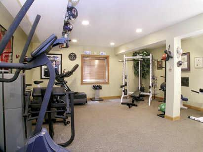 gym in basement - Interior Design Basement