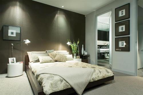 modern style bedroom