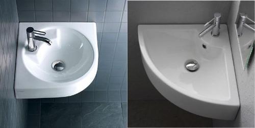 corner lavatory sink vanity. Corner Bathroom Sinks  Vanity Sink GharExpert com