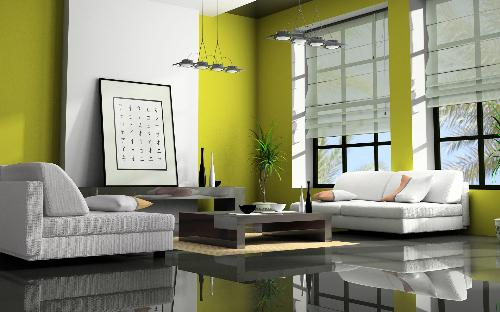 Living room color schemes living room color living Green colour living room