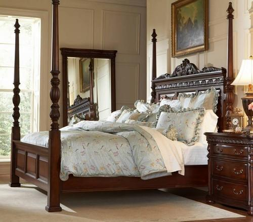 Traditional Bedroom Style with a Poster Bed