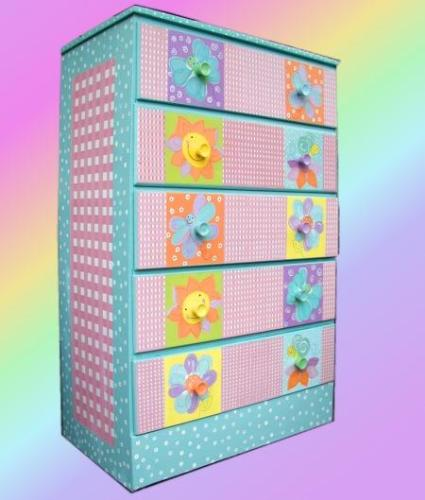 Colorful Baby Room Storage
