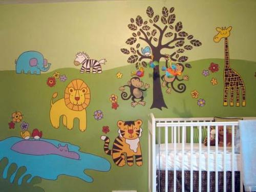 Jungle Theme for Baby Room