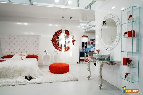 Luxurious White Bedroom