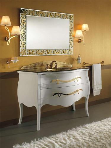 Antique Style Bathroom Vanities and Cabinets