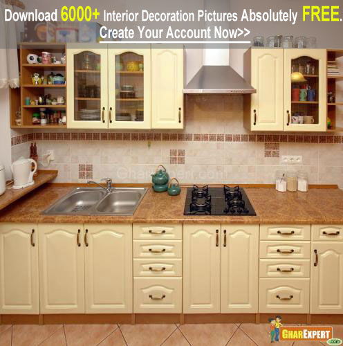 Fixed Kitchen Cabinets