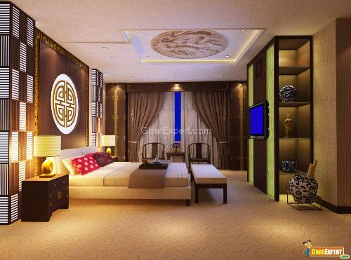 Pleasing Bedroom Decoartion