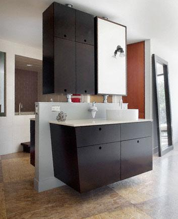 Contemporary Design for Bathroom Vanity and Cabinet