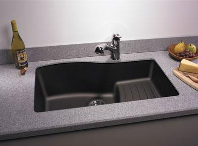 granite kitchen sink