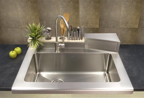 Stainless Steel Sink Undermounted