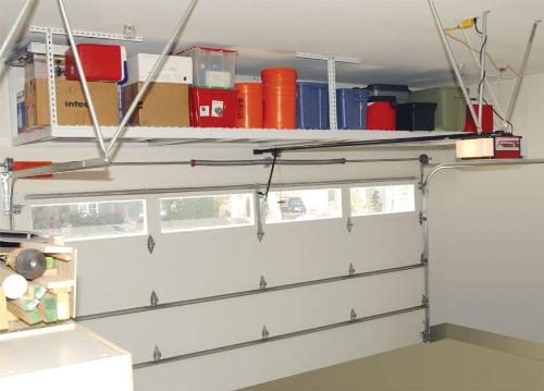 Garage overhead storage
