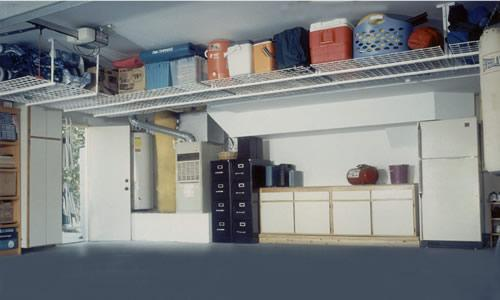 Designs For Garage Shelving
