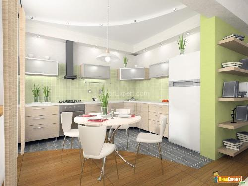 Contemprary Style kitchen