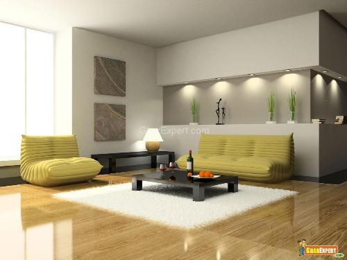 Grey Color Scheme for Living Room)