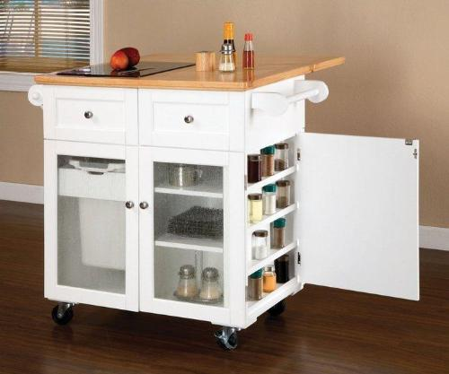 Wooden Movable Kitchen Island