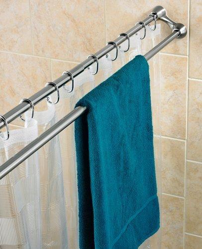 Bathroom Shower Curtain Rods