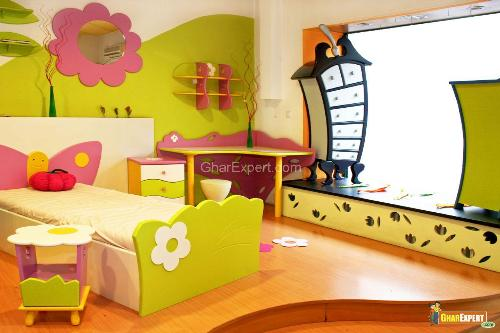 Stylish Kids Bed Design