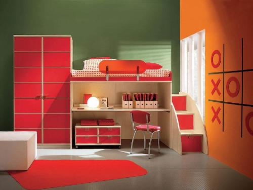 Kids Furniture Set with Loft Bed