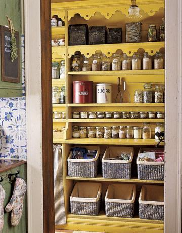 Categories of Items in Kitchen Pantry