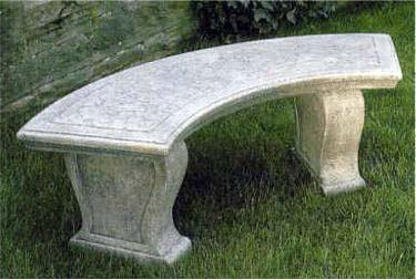 Curved  garden furniture
