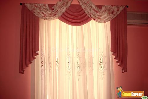 drawing room decorative curtain