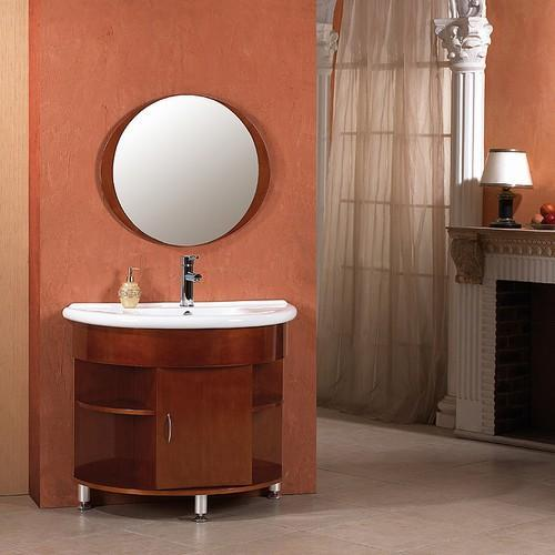 elegant bathroom vanity mirror