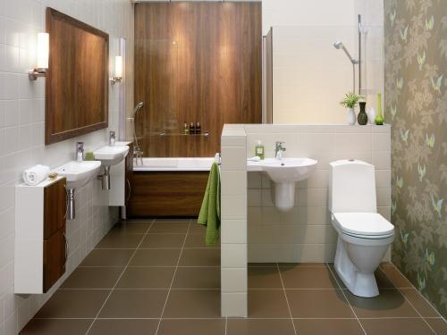 Flush Toilet Design for Bathroom