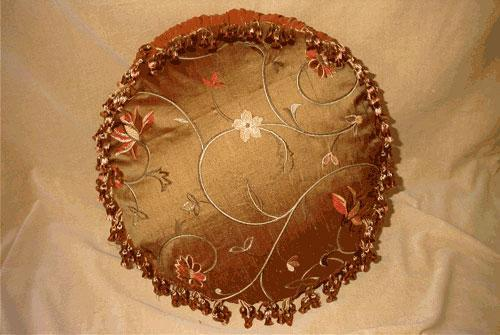 Decorative Round Cushion Cover