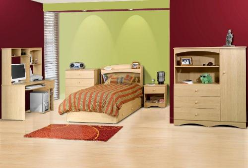 To enhance the beauty of teen's bedroom, you can match the accessories with ...