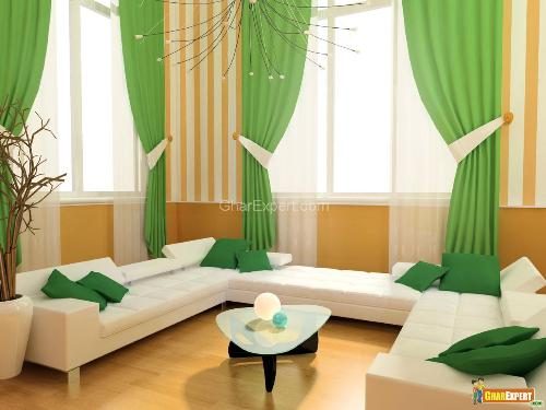 Modern Living Room Curtains