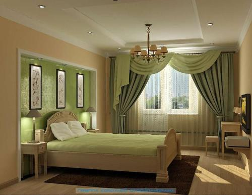 Amazing Green Bedroom Window Curtains Ideas 500 x 386 · 27 kB · jpeg